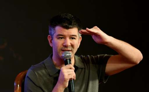 Embattled Uber co-founder and chief executive Travis Kalanick, pictured in December 2016, faces pressure after a series of misst
