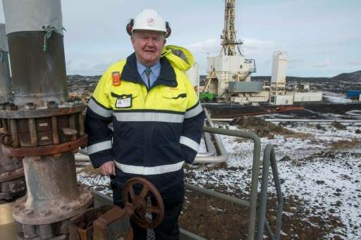 Engineer Albert Albertsson says Iceland's geothermal well could generate five to 10 times more power than a conventional well
