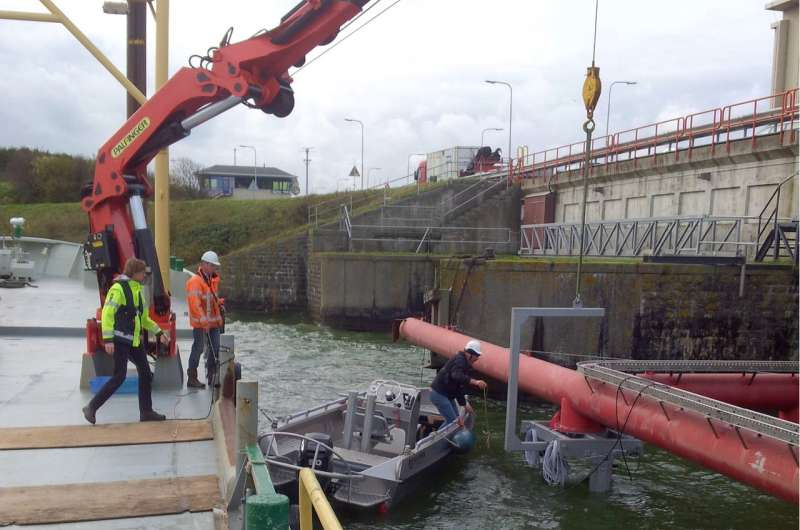 Engineers turn to the sea to reduce the environmental cost of energy production