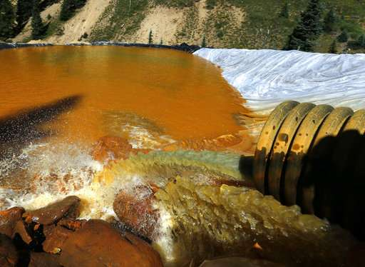 EPA chief to reconsider paying claims over mine waste spill