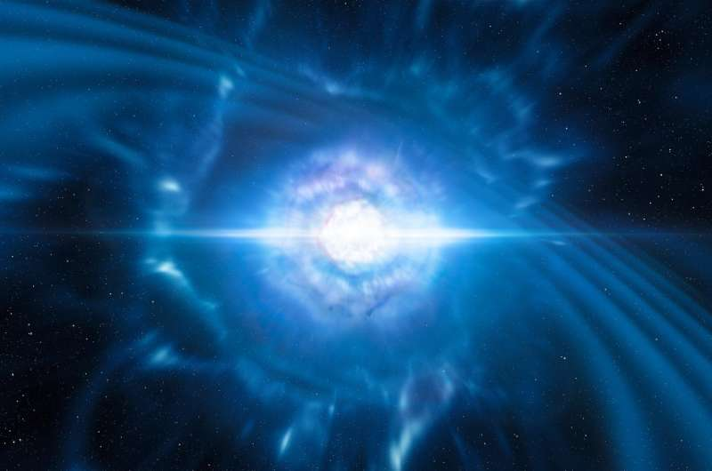 ESO telescopes observe first light from gravitational wave source