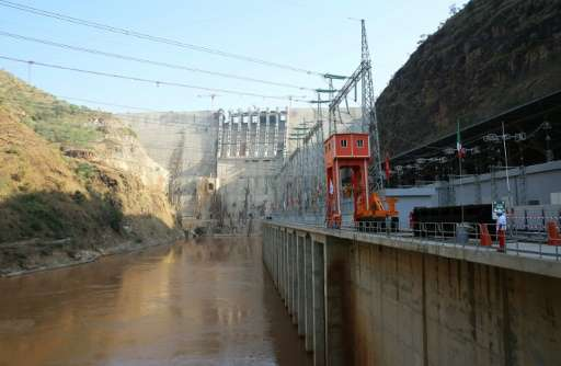 Ethiopia's huge Gibe III dam aims to double the country's electricity output, but critics say it is a threat to Lake Turkana