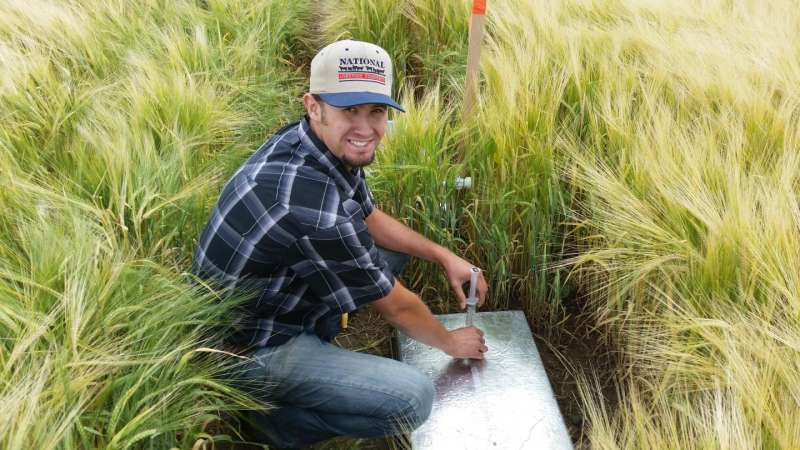 Evaluating greenhouse gas emissions in an irrigated cropping system