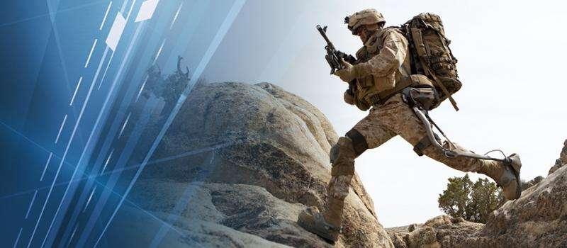 Exoskeleton helps soldiers carry heavy gear