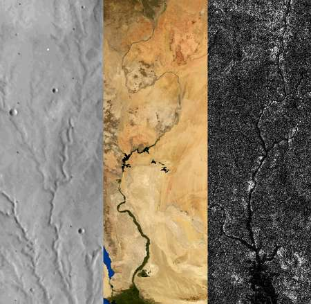 Experts explain origins of topographic relief on Earth, Mars and Titan