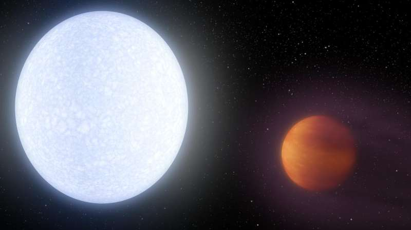 Extreme exoplanet: Astronomers discover alien world hotter than most stars