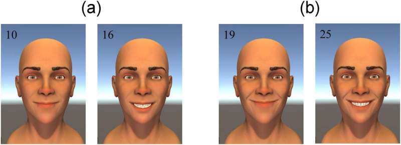 Facial models suggest less may be more for a successful smile