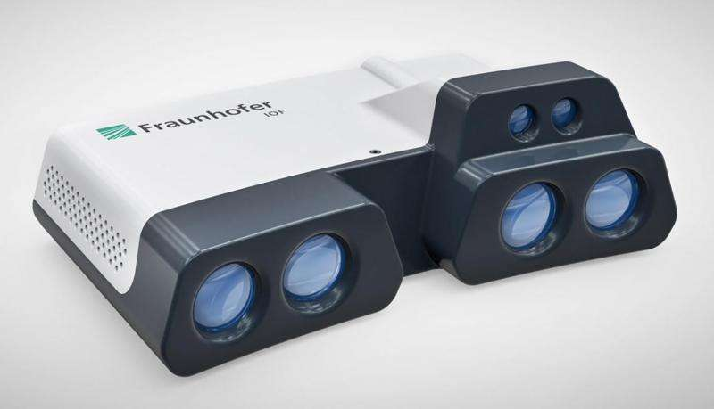 Fast and accurate infrared 3-D scanner