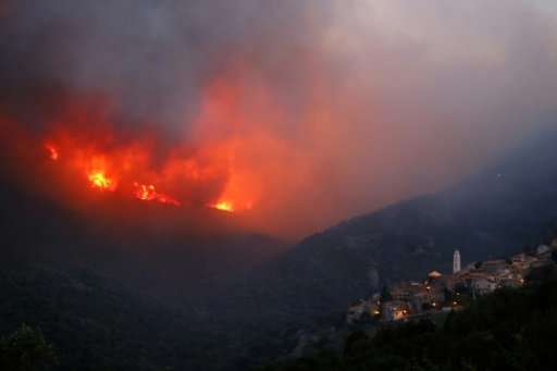 Fire destroyed 2,000 hectares of forest in Corsica