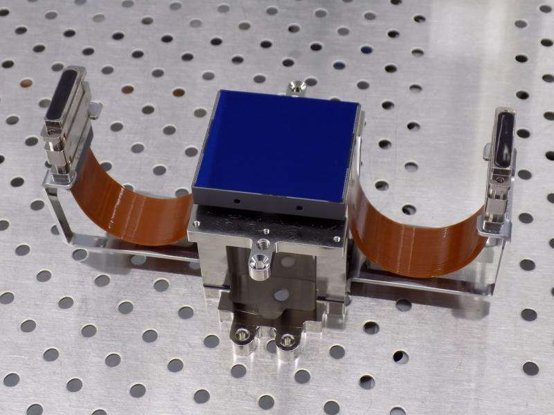 First Euclid flight hardware delivered