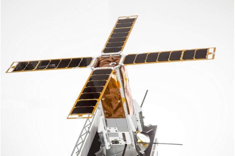 First Israeli nanosatellite for academic research developed by Ben-Gurion U. is launched