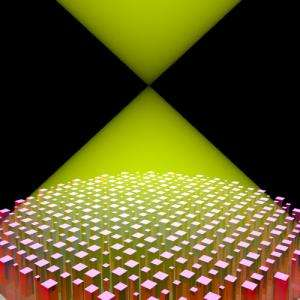Flat lens to work across a continuous bandwidth allows new control of light
