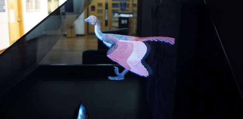 Flight of the living dead: how animation brings extinct species back to life