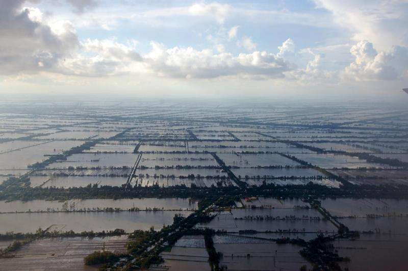 Food security threatened by sea-level rise