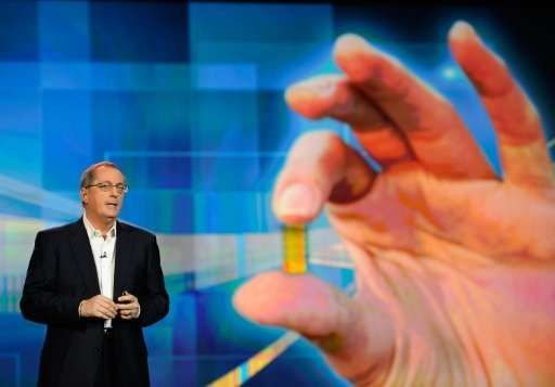 Former Intel CEO Paul Otellini, seen here in a 2012 photo at an International Consumer Electronics Show, led the chipmaker from