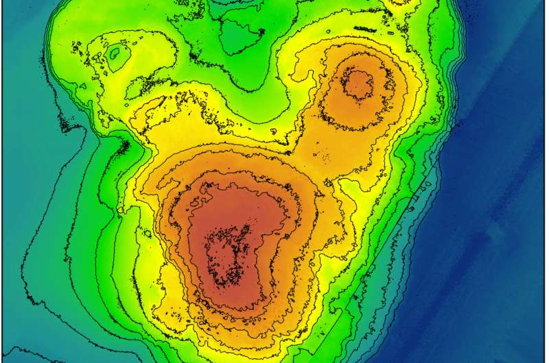 Fossil coral reefs show sea level rose in bursts during last warming