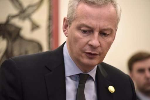 """French Finance Minister Bruno Le Maire said the US understands """"the need for the fair taxation of digital giants"""""""