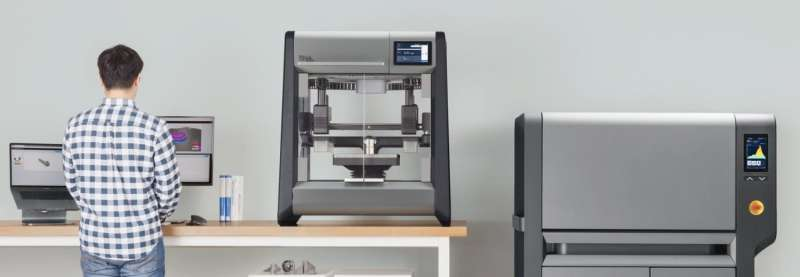 From rapid prototyping to output at scale, two metal 3D printing systems are announced