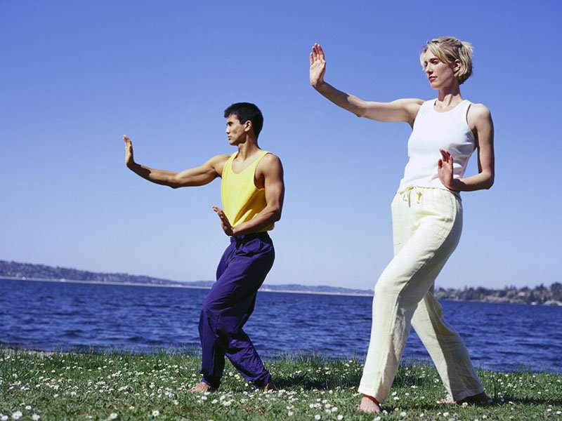 Get in step with tai chi