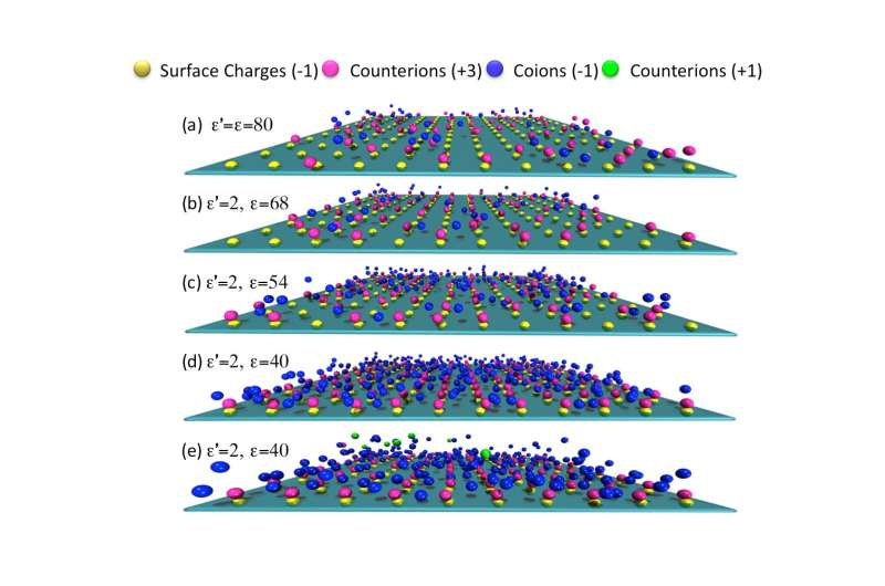 Giant charge reversal observed for the first time