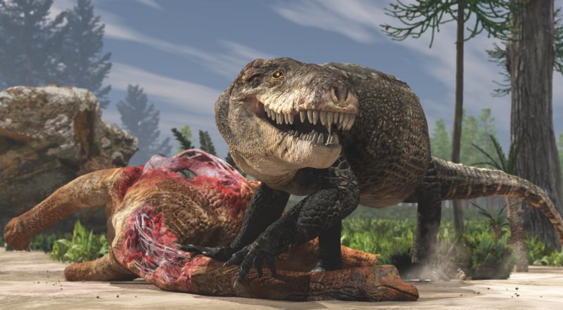 Gigantic crocodile with T. rex teeth was a top land predator of the Jurassic in Madagascar