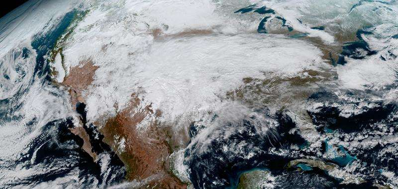 GOES-16 satellite sends first images of Earth