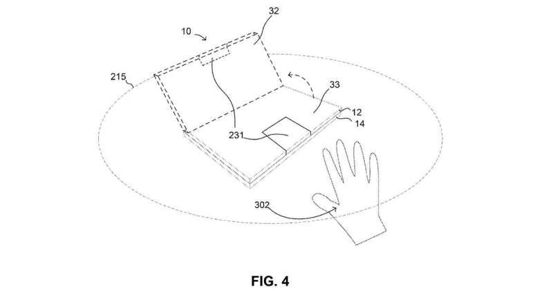 Google patent talk: laptop hinge and auto-align display convenience