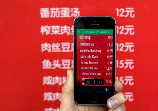 Google's translation app is now is accessible in China without censor-evading software