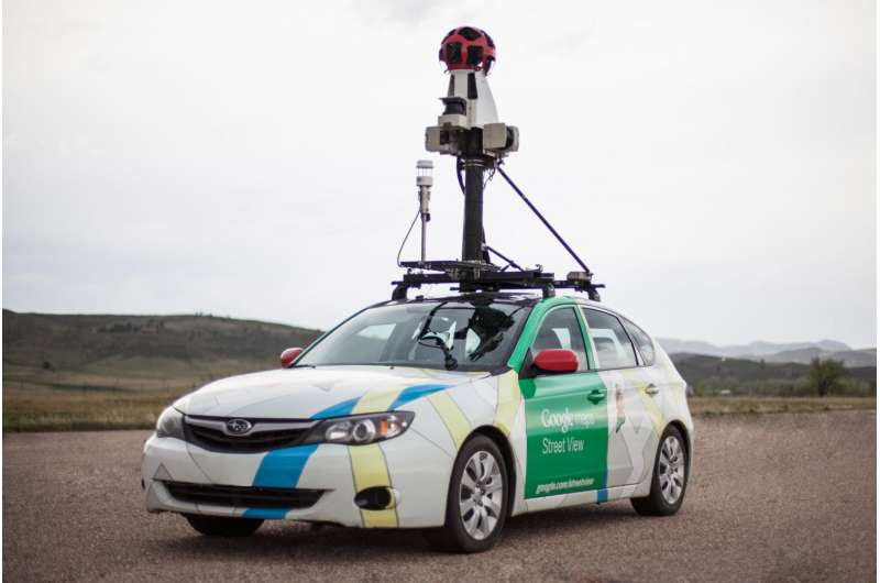 Google Street View cars are eyes on the ground for urban methane leaks