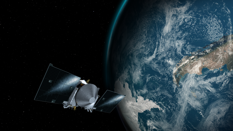 Ground-based telescopes to photograph NASA's OSIRIS-REx during Earth flyby