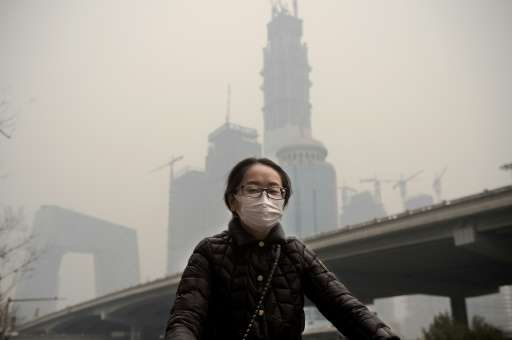 Growing public unhappiness with the choking pollution that regularly blankets parts of China is helping to drive the shift from