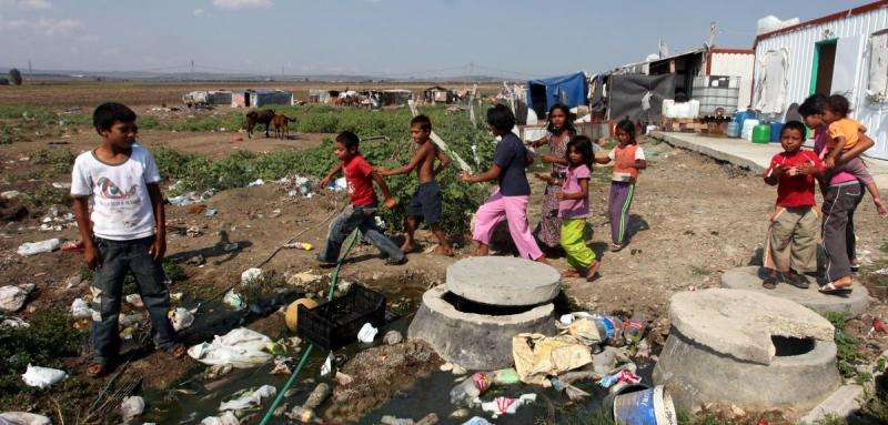 Half the world's poor are children