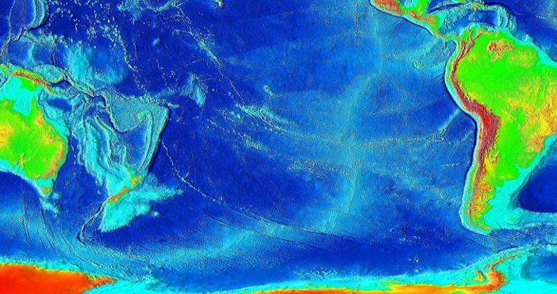 Heat from Earth's core could be underlying force in plate tectonics