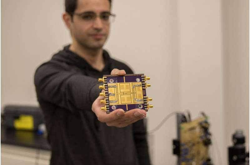 High-frequency chip brings researchers closer to next generation technology