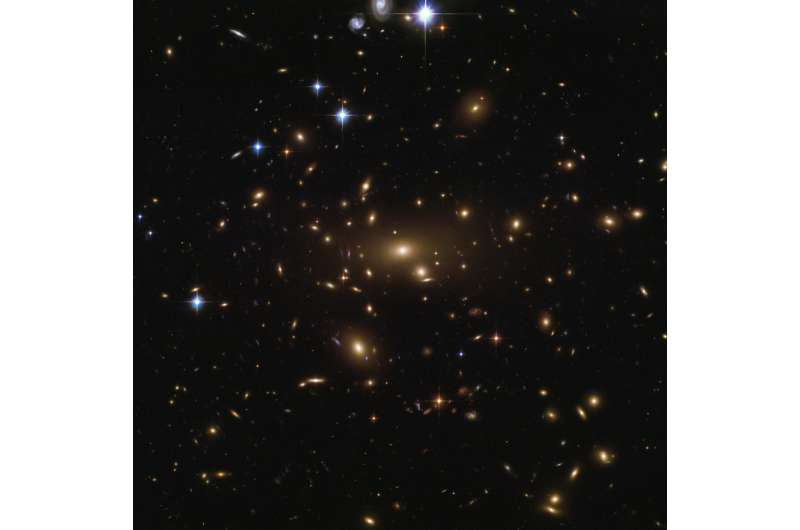 Hubble Cashes in Abell's Richest Cluster