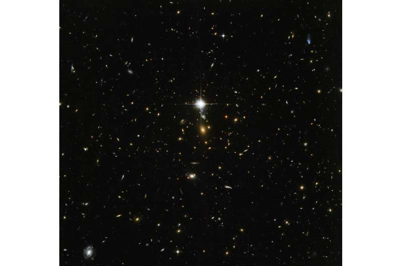 Hubble digs into cosmic archaeology