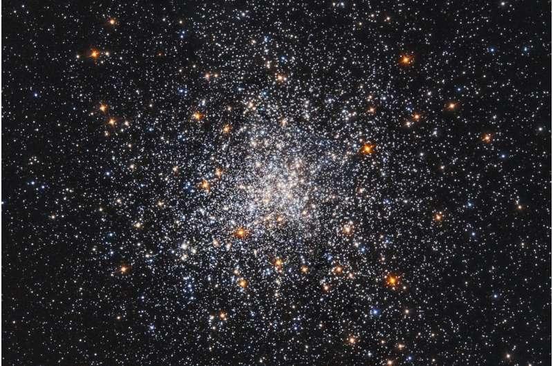 Hubble's celestial snow globe