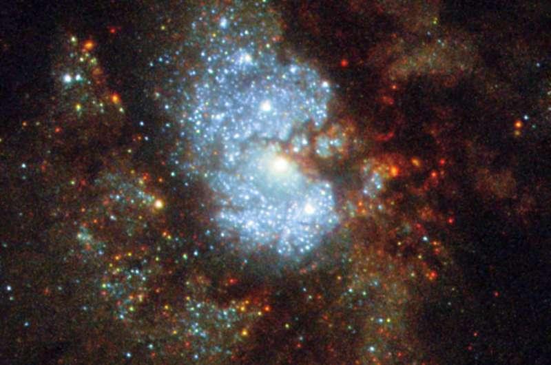 Hubble's hidden galaxy