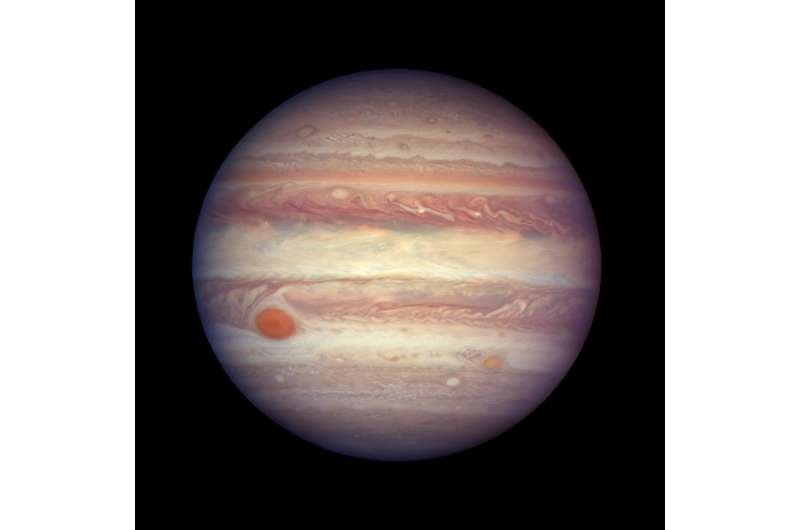 Hubble takes close-up portrait of Jupiter