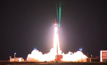 Hypersonic flight test goes like a rocket