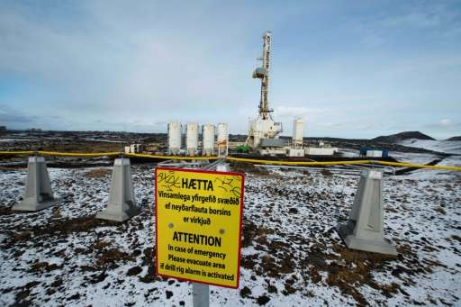 Iceland says its geothermal power station at Reykjanes can produce clean energy independent from fossil fuels by generating elec