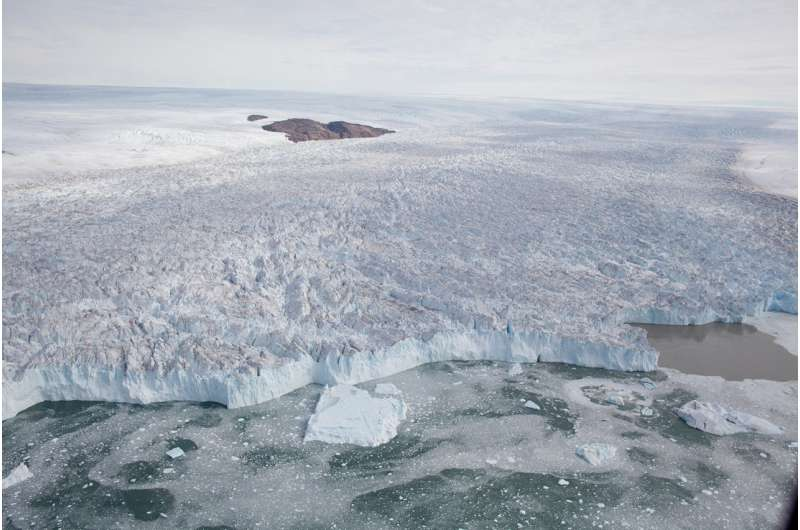 Ice stream retreats under a cold climate