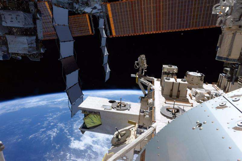Image: An astronaut's view from the 'corner office'