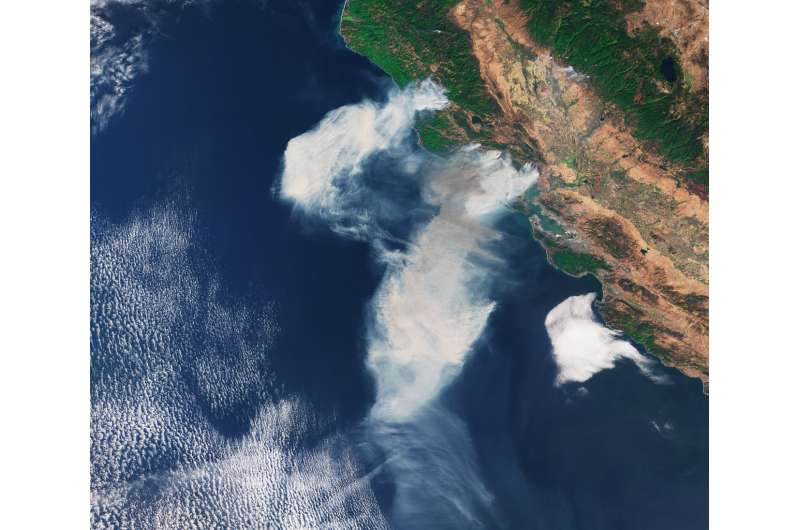 Image: California fires