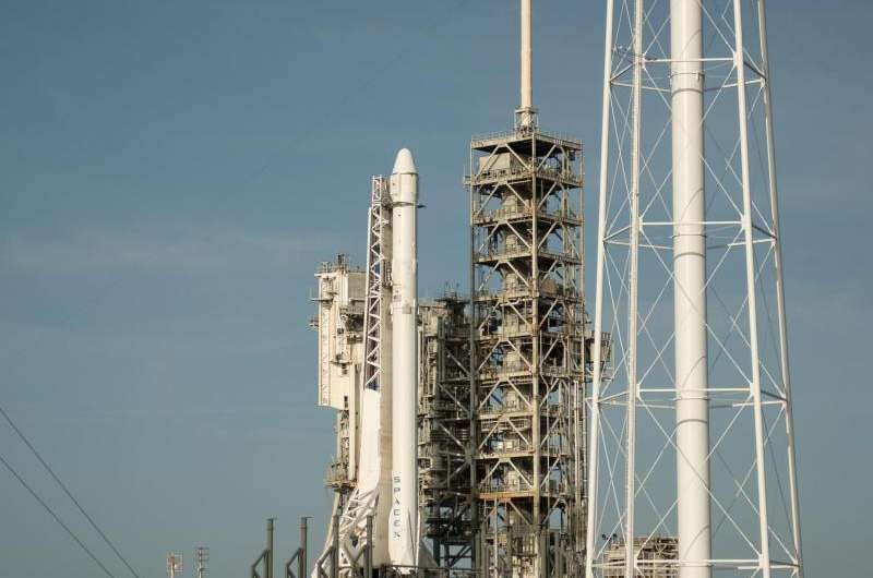 Image: Eleventh SpaceX commercial resupply mission to space station set for launch