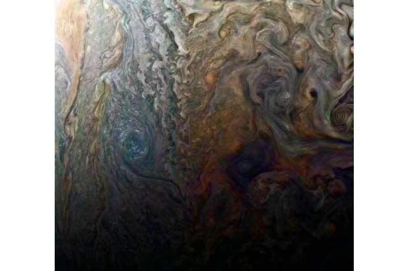Image: Mysterious Jovian dark spot