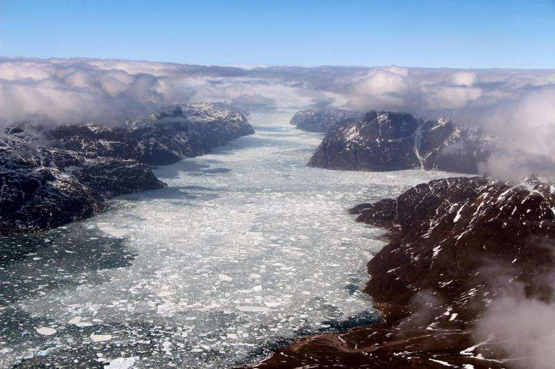 Image: NASA's IceBridge wraps up 2017 Arctic campaign with southern Greenland flight