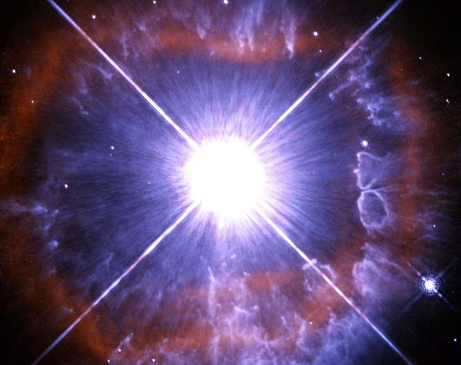 Image: Shedding star AG Carinae