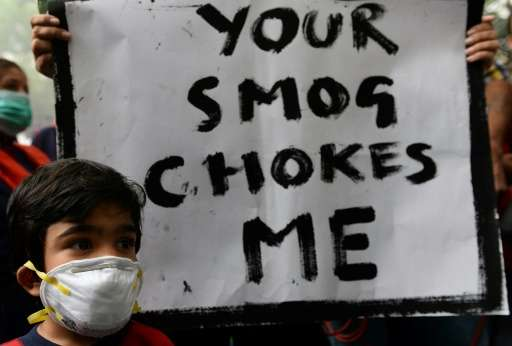 India's notoriously poor air quality causes nearly 1.1 million premature deaths every year, almost on par with China, concluded