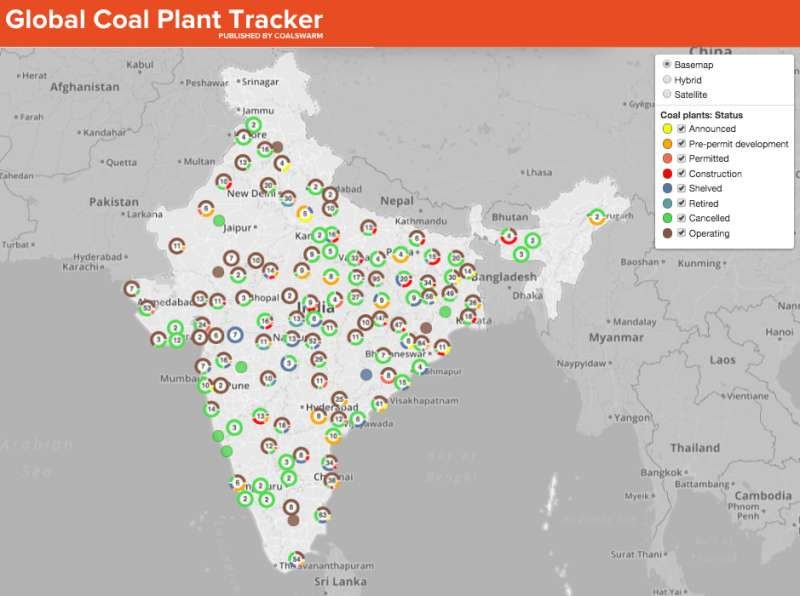 India's outsized coal plans would wipe out Paris climate goals